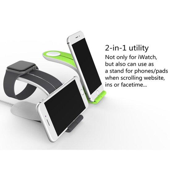 LOCA MOBIUS Stand - Grijs - Geschikt voor Apple Watch
