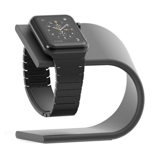 Aluminium Stand - Donkergrijs - Geschikt voor Apple watch