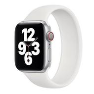 Solo Loop Link serie bandje - Maat: S - Wit - Geschikt voor Apple Watch 38mm / 40mm / 41mm