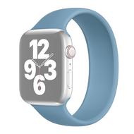 Solo Loop Link serie bandje - Maat: M - Blauw - Geschikt voor Apple Watch 38mm / 40mm / 41mm