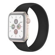 Solo Loop Link serie bandje - Maat: S - Zwart - Geschikt voor Apple Watch 38mm / 40mm / 41mm