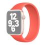 Solo Loop Link serie bandje - Maat: M - Koraalrood - Geschikt voor Apple Watch 42mm / 44mm / 45mm