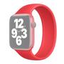 Solo Loop Link serie bandje - Maat: M - Rood - Geschikt voor Apple Watch 42mm / 44mm / 45mm