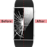 Fitbit Charge 3 Case (volledig beschermd) - Transparant_