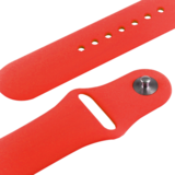 Apple watch 38mm / 40mm rubberen sport bandje - Rood_