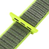 Sport loop Apple watch bandje 42mm / 44mm - Groen_