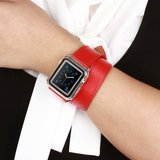 Apple watch 38mm / 40mm double strap - Rood_