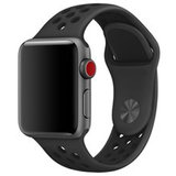Apple watch sportbandje 42mm / 44mm - Zwart_