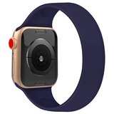 Apple Watch 42/44mm - Maat: M - Solo Loop link series - saffierblauw_