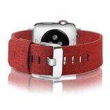 Apple Watch 42mm / 44mm - Canvas bandje - Rood_