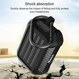 AirPods Pro carbon fiber hoesje - Zwart_