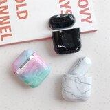 AirPods 1/2 hoesje Marble series - hard case - Marble multi color - Schokbestendig_