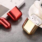 AirPods 1/2 hoesje Electro series - hard case - Goud - Schokbestendig_