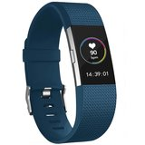 Fitbit Charge 2 sportbandje (Small) - Donkerblauw_