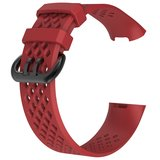 Fitbit Charge 3 & 4 sport bandje (large) - Rood_