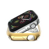 Apple watch 42mm siliconen case - Goud_