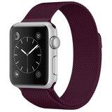 Milanees Apple watch bandje 38mm / 40mm RVS - Paars_