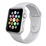 Apple watch 38mm / 40mm rubberen sport bandje - Grijs_