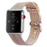 Apple Watch 42mm / 44mm - Canvas bandje - Multicolor_