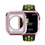 Siliconen case 40mm - Roze - Geschikt voor Apple Watch 40mm_