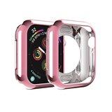 Siliconen case 38mm - Roze - Geschikt voor Apple Watch 38mm_