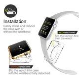 Siliconen Case 38mm - Transparant - Geschikt voor Apple Watch 38mm_