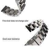 Metalen schakelarmband voor Xiaomi Mi Band 3/4/5/6 - Zwart_