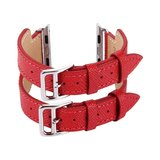 Kakapi Apple watch 38mm / 40mm Double-buckle - Rood_