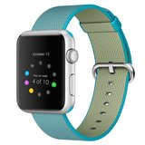 Nylon Apple watch 38mm / 40mm bandje - Blauw_