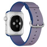 Nylon Apple watch 38mm / 40mm bandje - Paars_