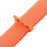 Sport loop Apple watch bandje 42mm / 44mm - Oranje_