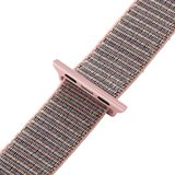 Sport loop Apple watch bandje 42mm / 44mm - Roze_