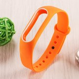 Xiaomi Mi band 2 DUO COLOR bandje voor CA0600B - Oranje_