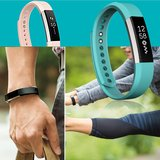 Fitbit Alta siliconen bandje, Small, Lengte: 18.5CM - Baby blauw_