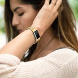 Fitbit Charge 2 milanese bandje (Small) - Goud_