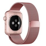 Milanees Apple watch 38mm / 40mm bandje RVS - Rosé goud_
