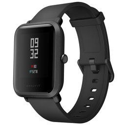 Xiaomi Huami Amazfit BIP smart watch IP68 Waterdicht met gorilla-glass - Zwart