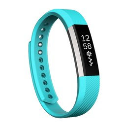 Fitbit Alta siliconen bandje, Small, Lengte: 18.5CM - Baby blauw