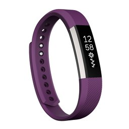 Fitbit Alta siliconen bandje, Small, Lengte: 18.5CM - Paars