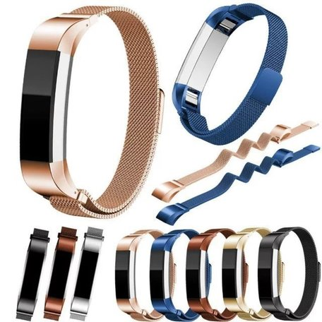 FitBit Alta HR Milanese bandje (Small) - Paars