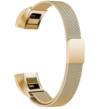 FitBit Alta HR Milanese (Large) - Goud
