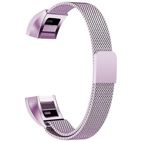 FitBit Alta HR Milanese (small) - Licht paars