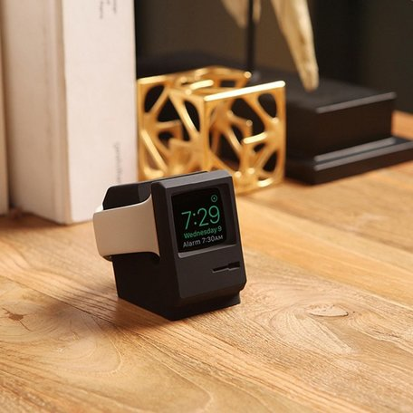 Apple Watch Retro houder - Zwart