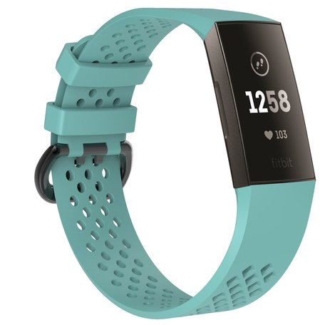 Fitbit Charge 3 & 4 sport bandje (large) - Turquoise