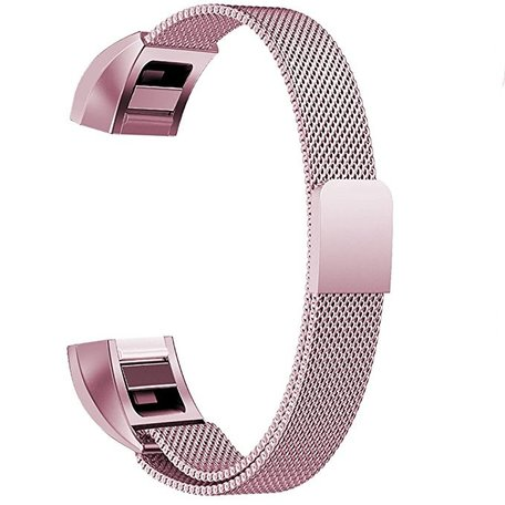 FitBit Alta HR Milanese (small) - Rosé goud