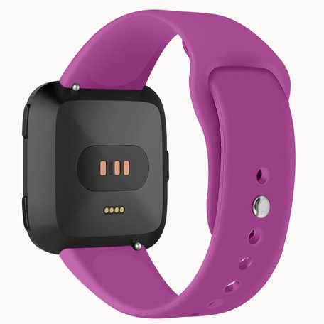 Fitbit Versa siliconen bandje (small) - Paars