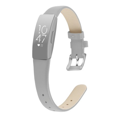 Fitbit Inspire HR lederen bandje (small) - Taupe