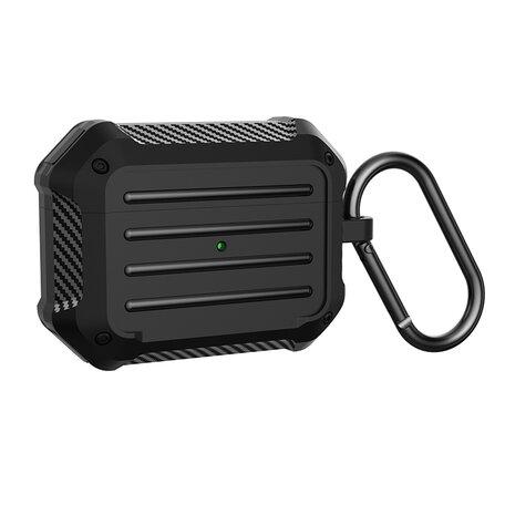 AirPods Pro carbon fiber hoesje - Zwart