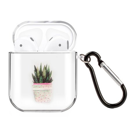 AirPods 1/2 hoesje Painting series - hard case - Plant - Schokbestendig