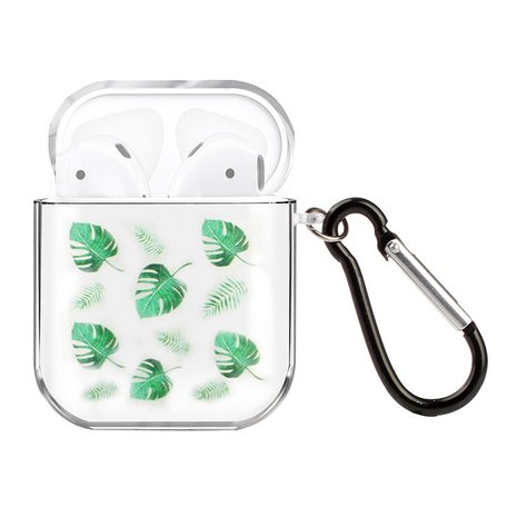 AirPods 1/2 hoesje Painting series - hard case - Geen leaf - Schokbestendig